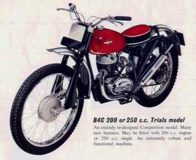 Ashort History of the trials machines built in Ashford Kent in the