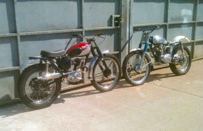 This is the story of the Triumph Cub with Pat Slinn replica