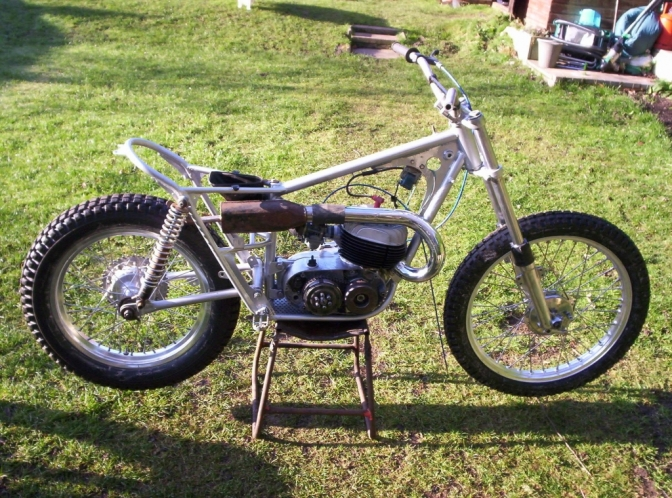 First of two Bultaco rebuilds by Dave showing the cost involved