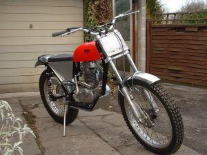 The BSA &quot;Otter&quot;.<br /> A very underestimated trials Machine.