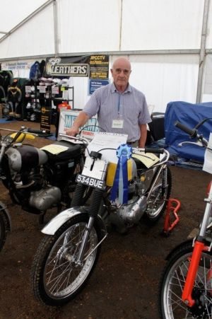 Pat Slinn and his superb BSA